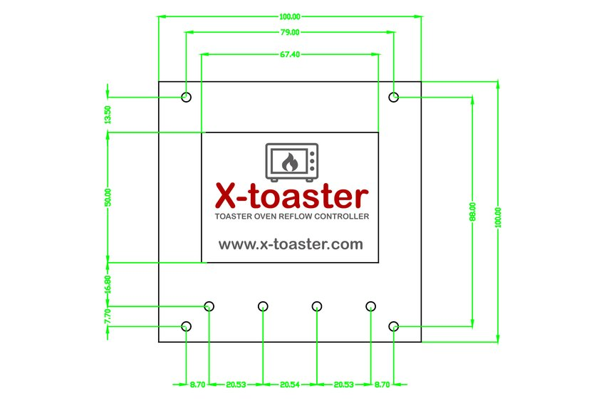 X-toaster | Toaster Oven Reflow Controller - KIT