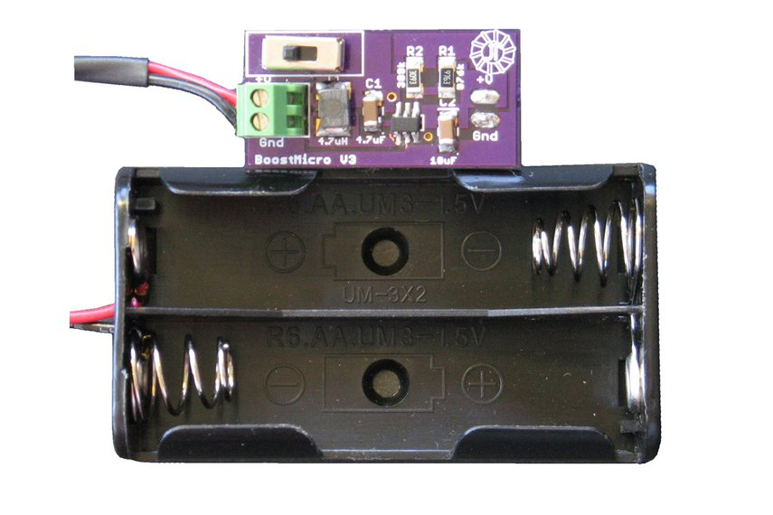 BoostMicro - 5 Volt Power Supply,  Assembled