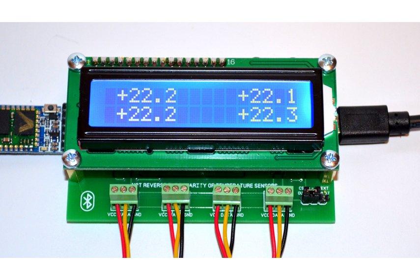 Ch temperature logger arduino bluetooth from bugrovs