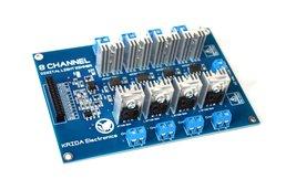 8CH AC LED Light Dimmer Module Controller Board