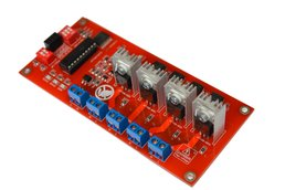 I2C 4CH AC Light Dimmer Bulb LED Module
