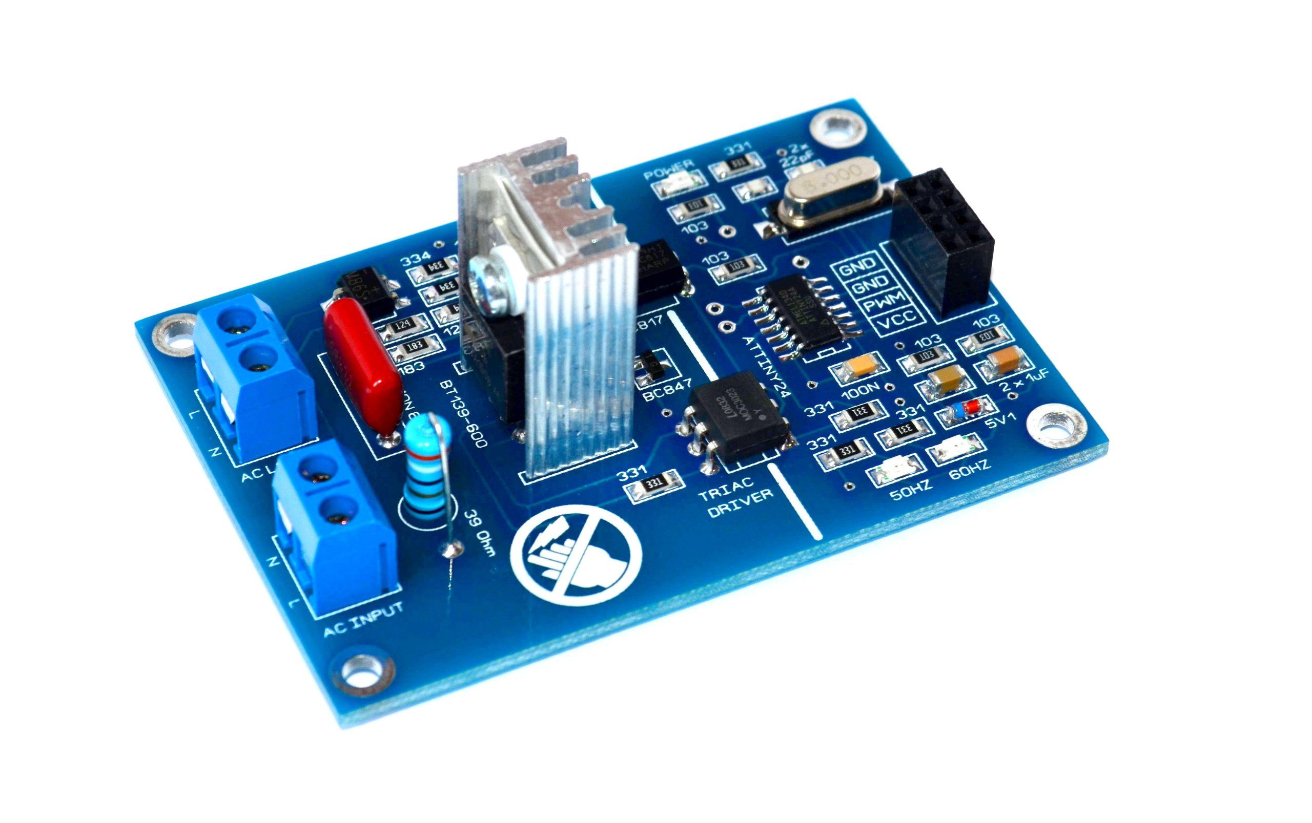 Pwm ac light dimmer module hz from bugrovs on