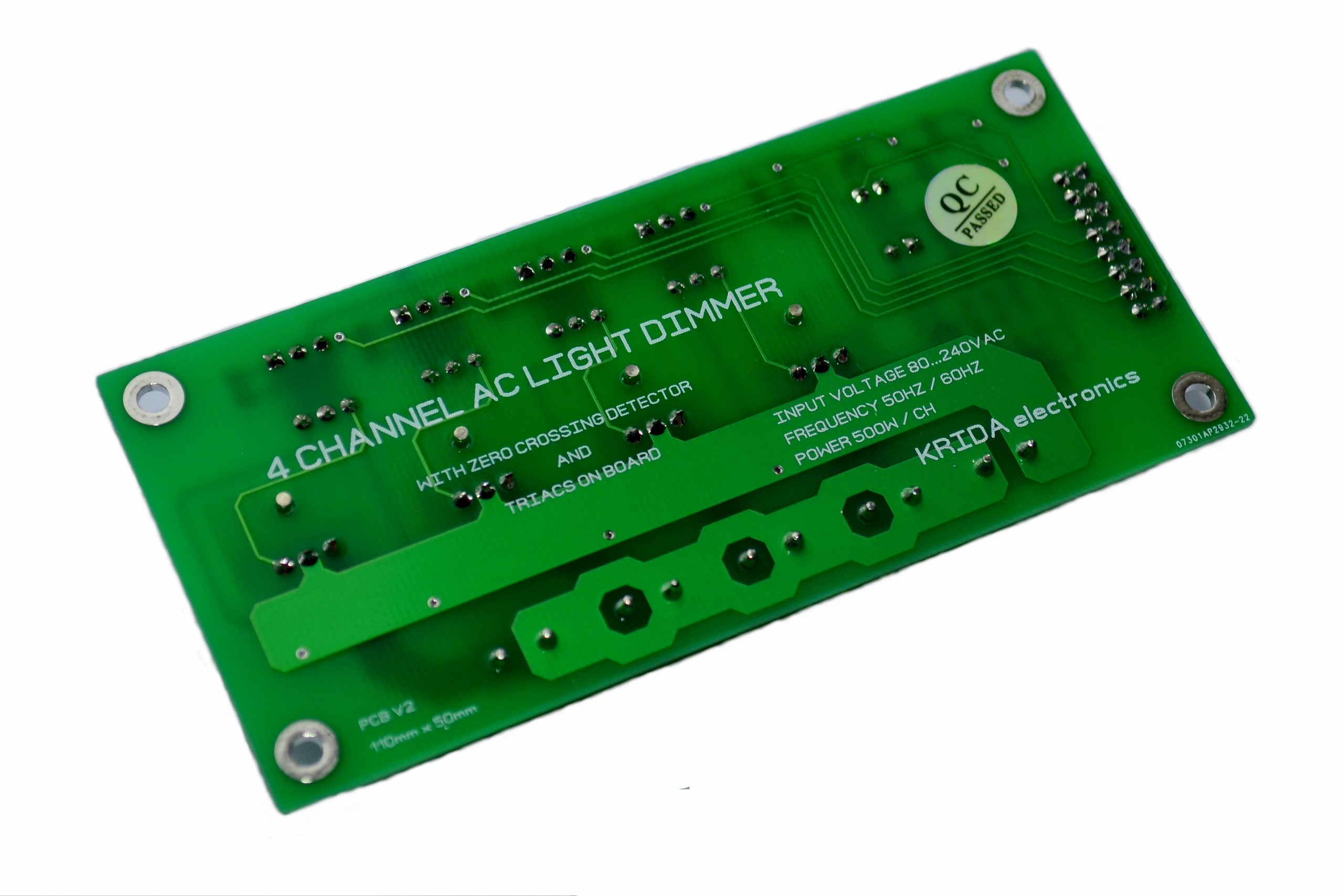 Adding Custom Boards To The Arduino V1: 4CH AC Dimmer V1 Module Controller Board Arduino From