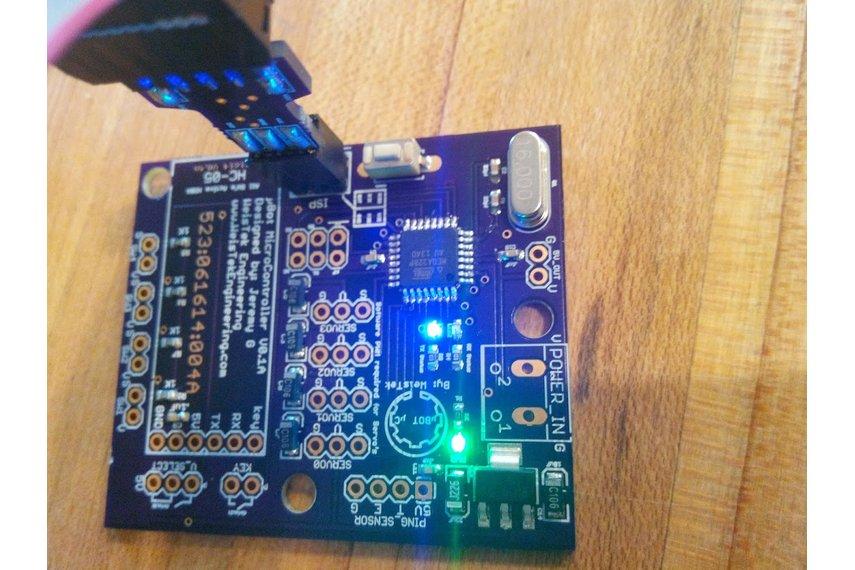 USBasp Atmel ICSP programmer. (USBisp).