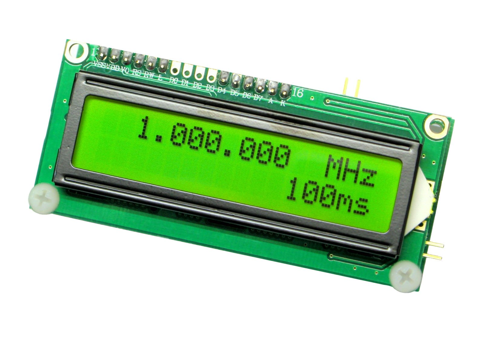 Frequency Counter Kit : Frequency counter diy kit w lcd hz mhz from rhgeiger