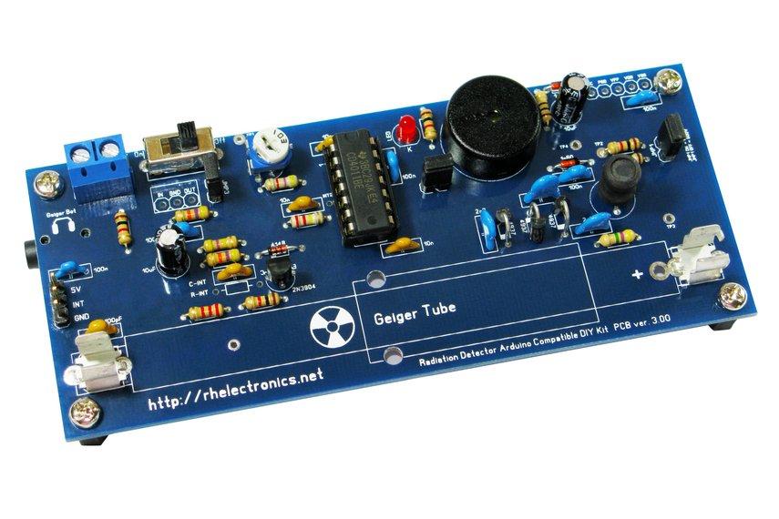Geiger counter radiation detector diy kit from rhgeiger on