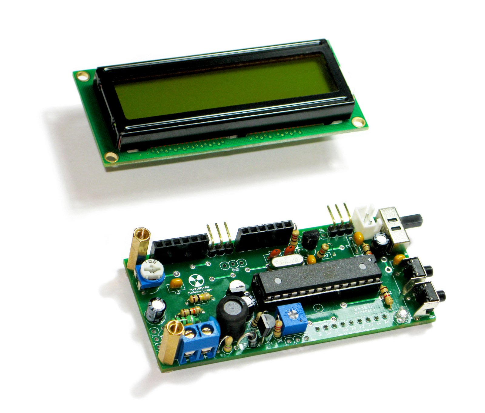 Diy arduino ide geiger counter kit with uart log from