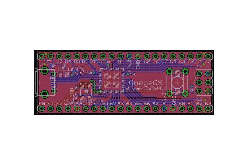 ATXmega128A4U breakout