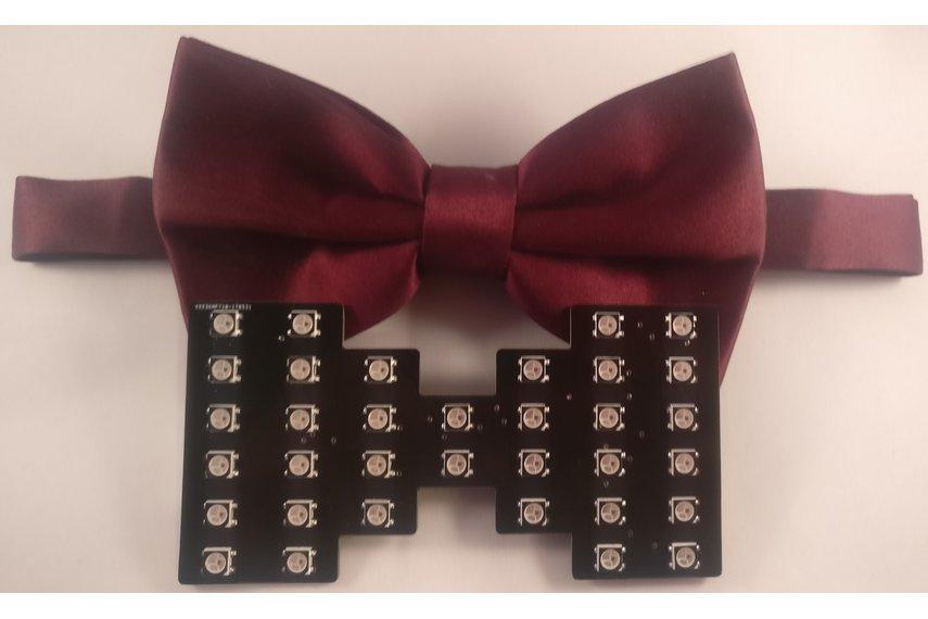 Chroma Wear RGB Bow Tie