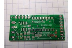 18F258 & MCP2551 CAN BUS Minimal BOARD