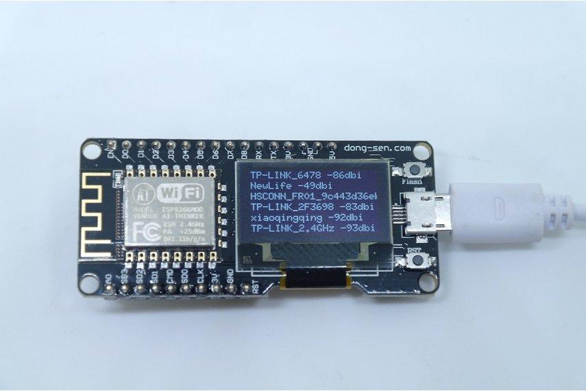 D-duino V2(Arduino&NodeMCU&ESP8266&0.96OLED)