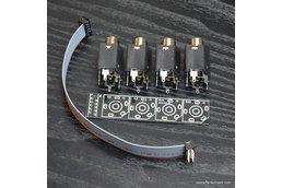 2 mono inputs / 2 mono output