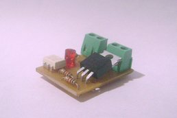 Mini Dimmer AC    30x30mm (90V to 240V) 1,5A