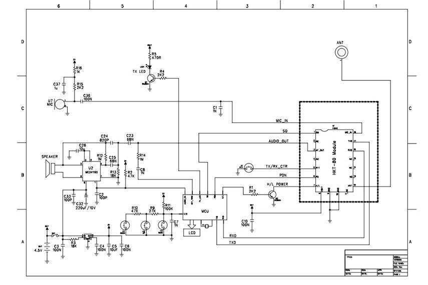 diy transceiver schematic  diy  get free image about