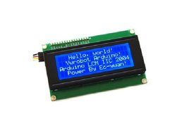 2004 LCD module Blue screen IIC/I2C  5V LCD module blue screen provides library files