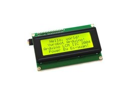 IIC/I2C 2004 Character LCD Module Display Yellow Green screen 5V