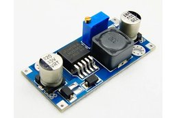 2pcs/lot DC-DC Buck Converter Step Down Module LM2596 Power Supply Output 1.23V-30V