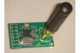 NRF905 wireless transceiver module