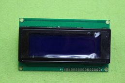 Blue screen LCD module (IIC/I2C 2004)