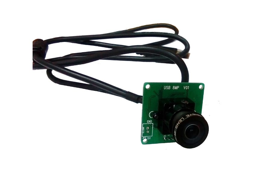 8MP USB Camera module for Linux/wind7/wind8 from exlene on Tindie