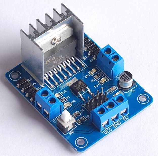 L298n Stepper Motor Driver Microcontroller From Exlene On