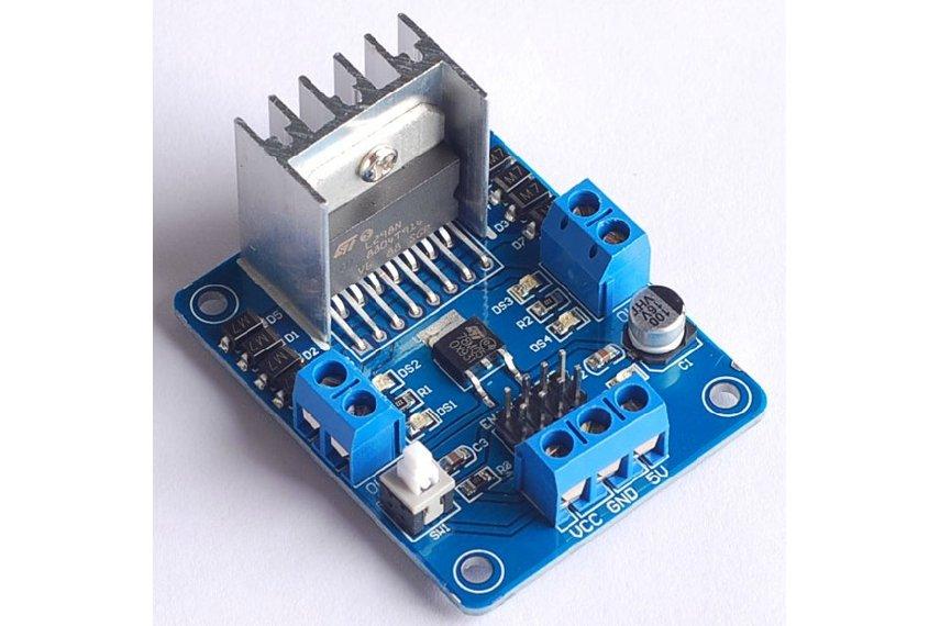 L298n stepper motor driver microcontroller from exlene on for Stepper motor vs servo