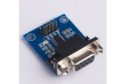 6pc RS232 To TTL Converter Module 5V with Cables