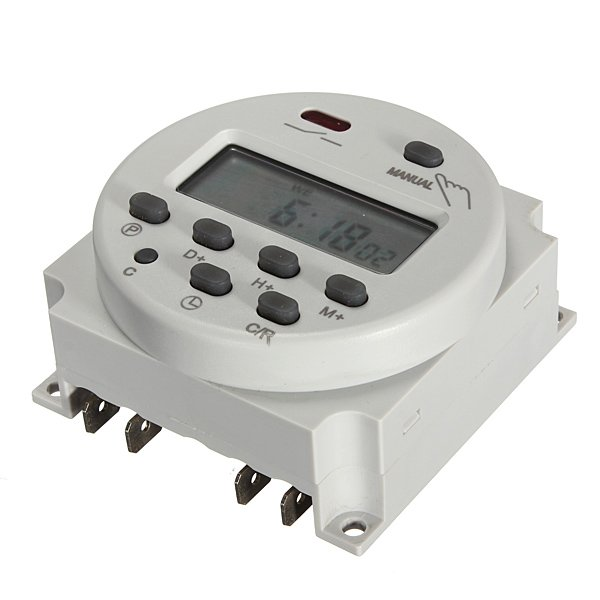 Digital Power Switch : Digital cn a power programmable timer switch v ac