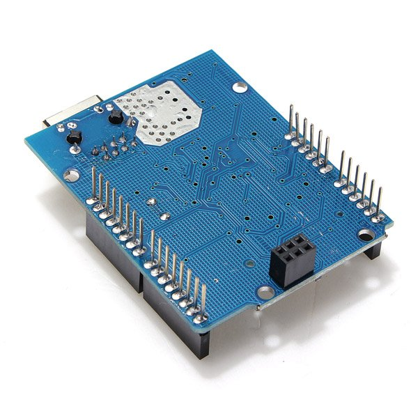 Ethernet shield module w micro sd card slot for