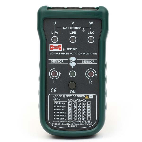 Mastech Non Contact Motor Rotation Indicator Meter From