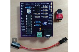 Ultimate Voice Changer Arduino Shield - v1.1