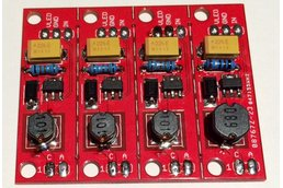 4 Channel Constant Current LED driver (PCB)