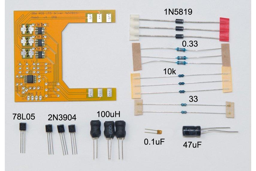 PixelFlood 20W RGB flood light kit (WS2811 pixel)