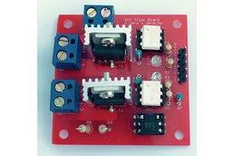 2 ch Triac board w/ zero crossing detector PCB