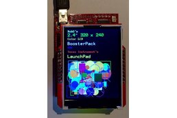 """Color LCD Booster Pack 2.4"""" 320x240"""