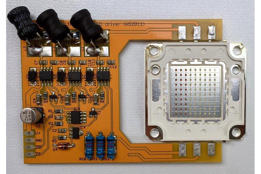 PixelFlood 100W RGB LED kit (WS2811 mega pixel)