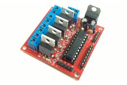 4 channel MOSFET board with MSP430 controller PCB