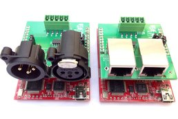 DMX RS-485 Booster Pack PCB