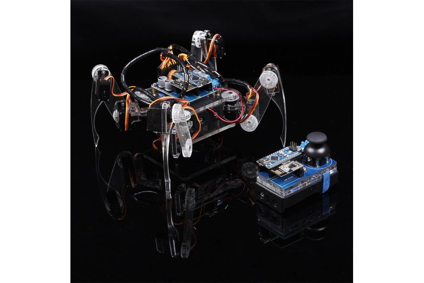 Crawling quadruped robot kit for arduino from sunfounder