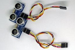 2 x HC-SR04 Ultrasonic Sensors with Cables