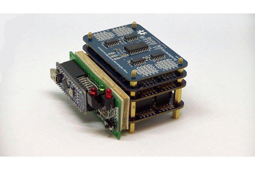 OctosonarX2 - connect 16 x HC-SR04 to Arduino