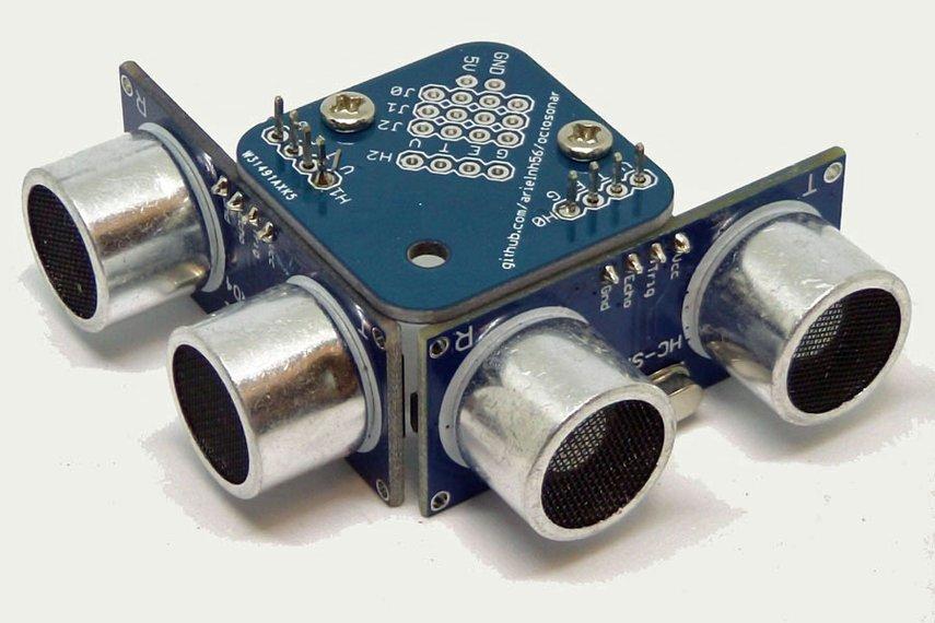 Trimount brackets for HC-SR04 Sensors - set of 4