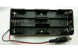 Bricktronics 6-AA Battery Holder