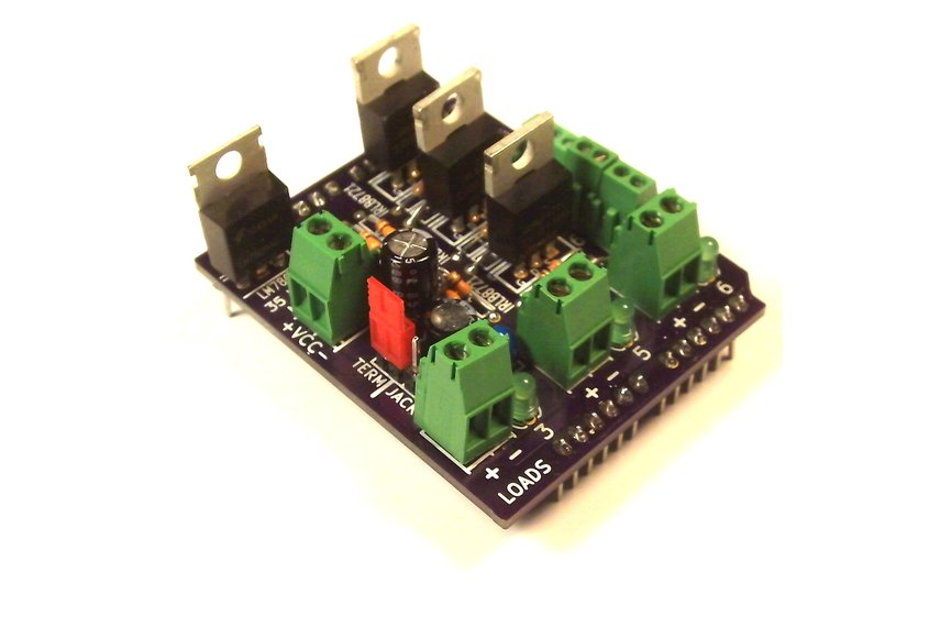 MOSFET Jr Arduino Shield Kit