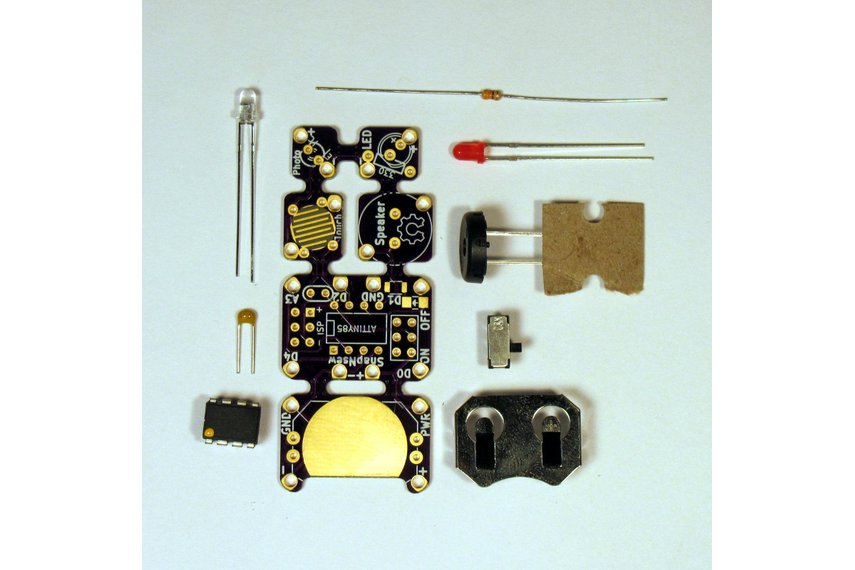 SnapNsew  Kit: A Soft-Circuit / Embedded Platform