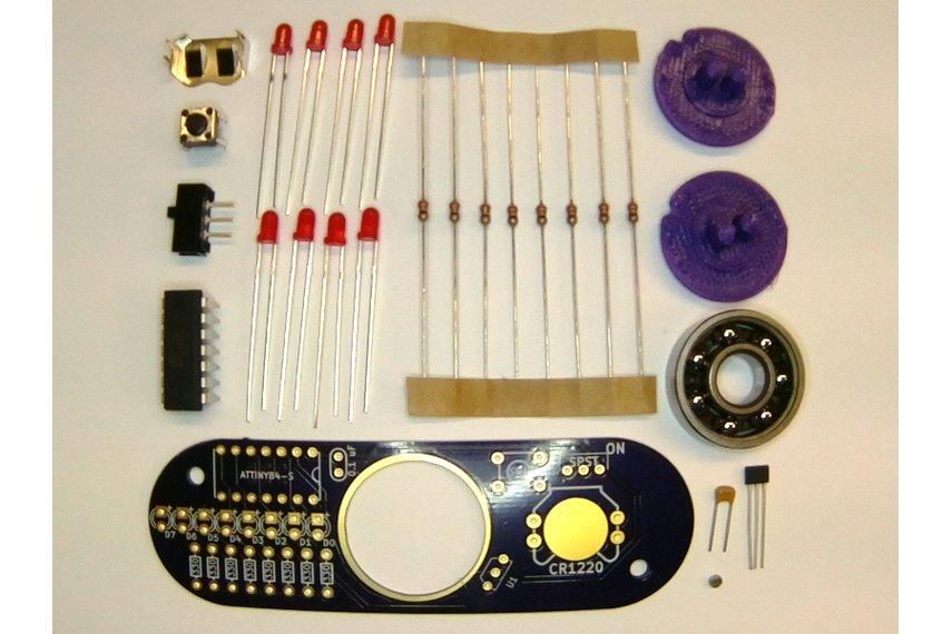Programmable POV Fidget Spinner