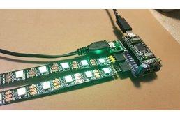 NusbioMCUpixels + 1 30 RGB LED strips