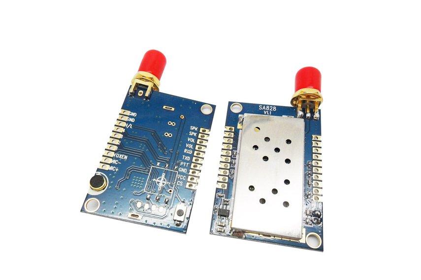 2PCS 1W All-In-One  Walkie Talkie Module SA828