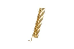 10pcs SW433-TH22 Gold plated spring antenna