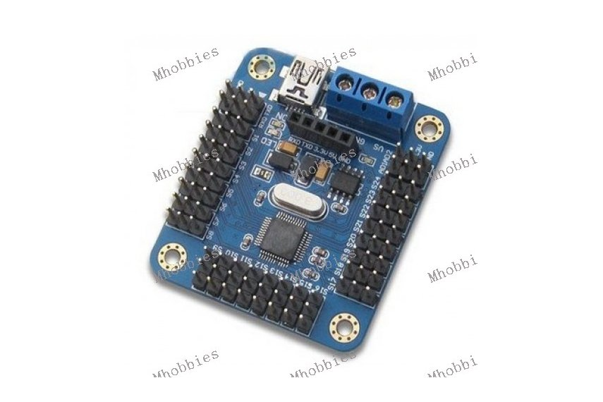 Mini usb servo controller board for arduino robot from